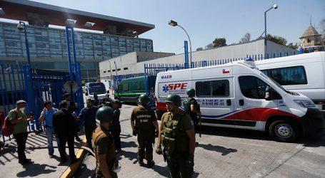 Al menos 25 internos y 10 gendarmes heridos tras intento de fuga en Santiago I