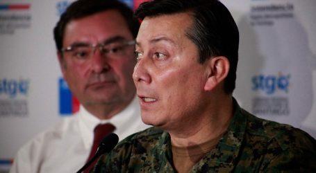 General Ricotti anunció aumento de controles de identidad preventivos