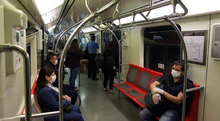 Metro de Santiago reportó un total de 7 contagiados por COVID-19