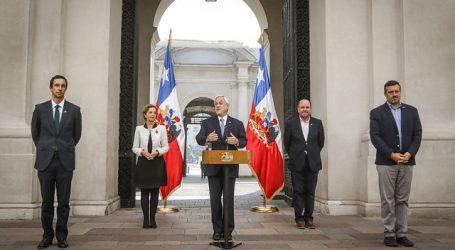 Presidente Piñera anunció beneficios en servicios básicos por Coronavirus
