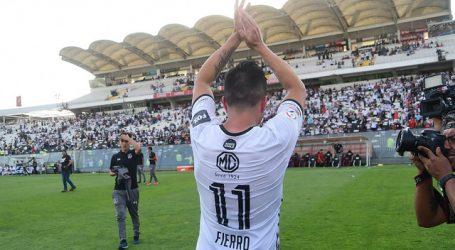 """Gonzalo Fierro: """"Voy a estar acompañando a Colo Colo por el resto de mi vida"""""""