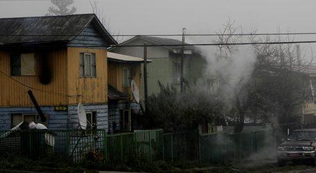 UTalca: Mala calidad del aire por uso de leña podría agravar cuadros de Covid-19