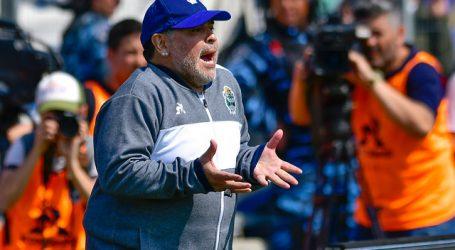 Diego Maradona y una particular explicación para cuando retorne el fútbol