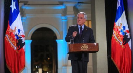 Presidente Piñera anunció regreso paulatino a clases desde el mes de mayo