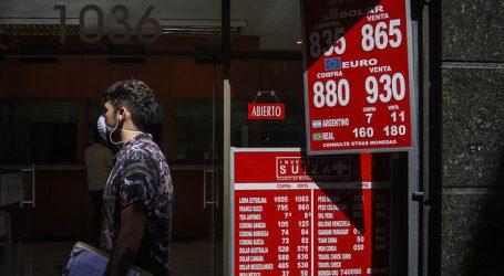 El dólar retomó la tendencia al alza y cerró la semana en 865 pesos