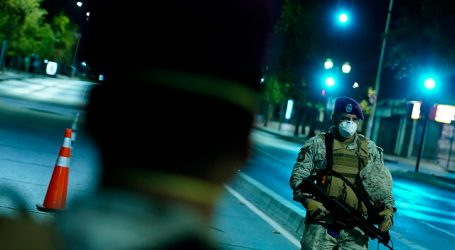 Sorprenden a siete jóvenes infringiendo toque de queda en Las Condes