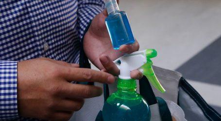 CCU donará más de 100 mil botellas de alcohol gel al Ministerio de Salud
