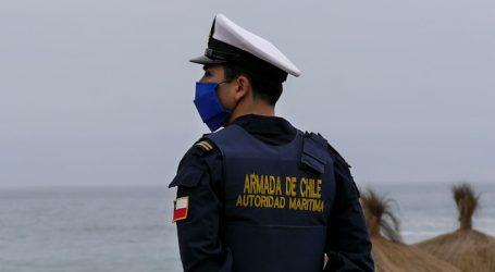 """Armada inicia operativo ante varamiento de buque """"La Manche"""" en la Antártica"""