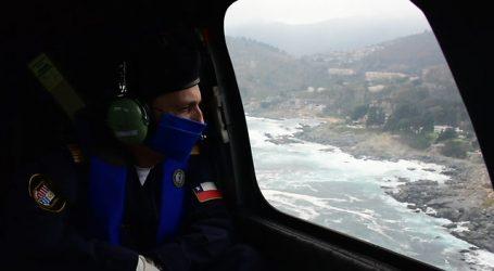 Identifican un caso de quienes vulneraron cordón sanitario en helicóptero