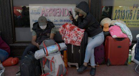 Cerca de 250 ciudadanos bolivianos fueron trasladados a albergue en Iquique