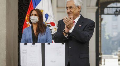 Presidente Piñera promulgó la ley de indulto general conmutativo