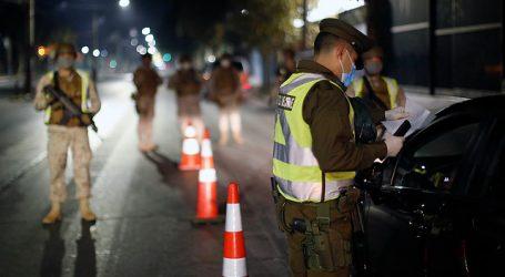 Carabineros reportó 438 conducidos en pasada jornada de toque de queda