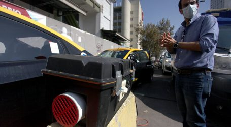 Realizan operativo para descontaminar vehículos en Estación Central
