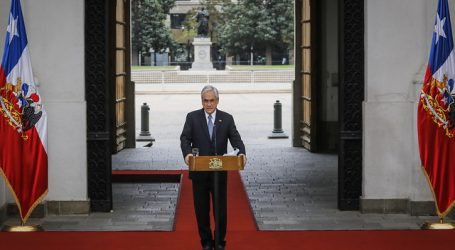 Presidente Sebastián Piñera anunció el Plan Retorno Seguro