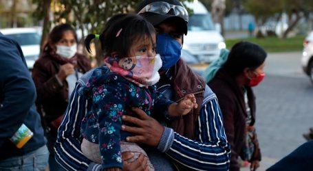 Cruz Roja realizó operativo para prevenir contagios entre bolivianos varados