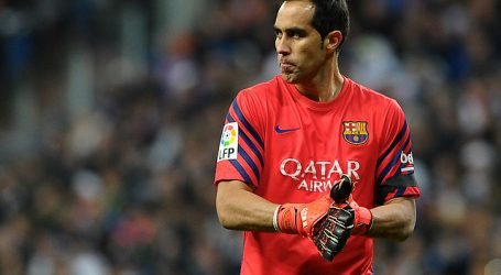 Claudio Bravo aparece entre los mejores metas de la década en la Liga española