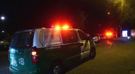 Detienen a menores de edad tras chocar auto robado en la comuna de La Florida