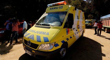 Un fallecido dejó un accidente vehicular registrado en la comuna de Quilpué