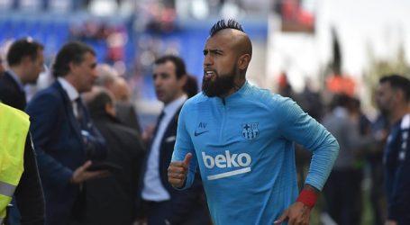 """Arturo Vidal: """"Salir de casa y pisar el césped es un avance"""""""