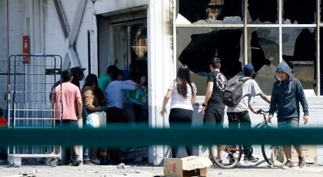 Detienen a 9 personas tras intento de saqueo a supermercado en Maipú