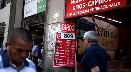El dólar cerró la jornada al alza y se mantiene cerca de los 800 pesos
