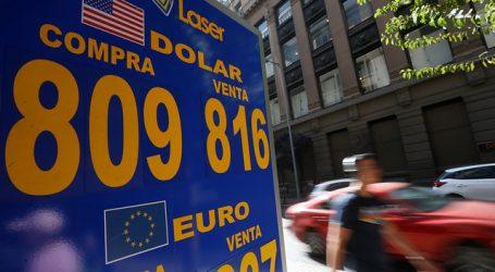 El precio del dólar operó a la baja por quinta jornada consecutiva