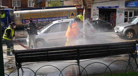 COVID-19: Municipalidad de Viña del Mar ha desinfectado cerca de 700 km