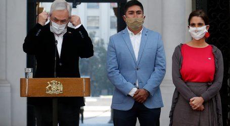 Piñera llamó al Congreso a aprobar la ley de Ingreso Familiar de Emergencia