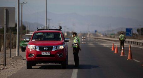 Carabineros: 588 vehículos fueron retornados a sus hogares cuando salían de RM