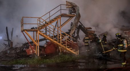 Incendio afectó a hogar de menores Catalina Keim en Osorno