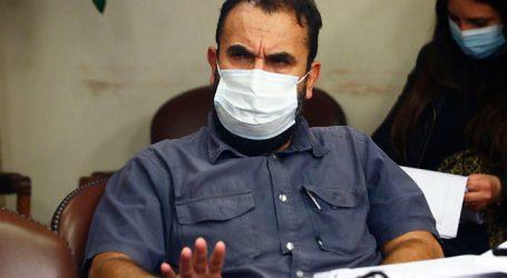 Bancada del Partido Comunista entregó su respaldo al diputado Hugo Gutiérrez