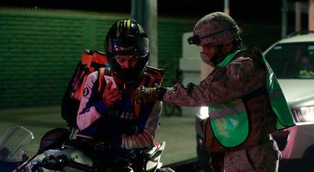 Carabineros reportó que 973 personas no respetaron el toque de queda en Chile
