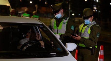 Carabineros reportó un total de 1.258 detenidos en la última jornada