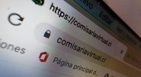 Carabineros informó de la intermitencia en sitio web de Comisaría Virtual