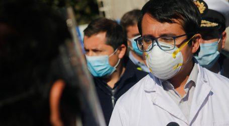 Seremi de Salud de Valparaíso permanece hospitalizado por cuadro respiratorio