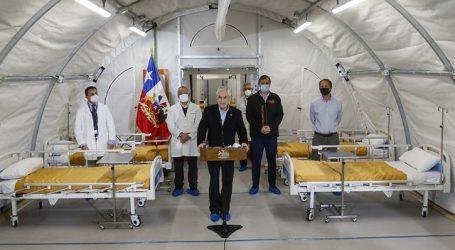 """Piñera reconoce que """"nuestro sistema de salud está muy cerca del límite"""""""