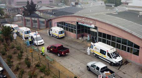 Ambulancias protestaron contra largas esperas en el Hospital El Pino