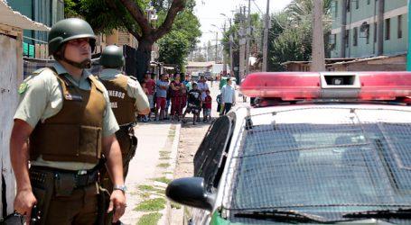 Detienen a 4 sujetos por saqueo a carnicería en la comuna de Quilicura