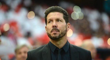 """Simeone: """"Ir perdiendo 2-0 y hacer tres goles en Anfield no es tener suerte"""""""