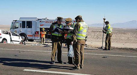 Accidente vehicular dejó un saldo de dos fallecidos en la comuna del Tiltil