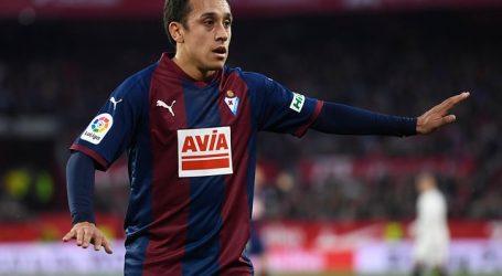 España: Fabian Orellana ingresó sobre el final en empate del Eibar ante Getafe
