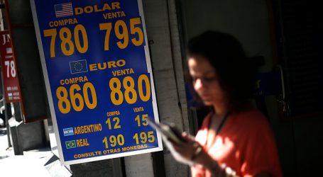 El dólar revirtió la fuerte caída de la mañana y cerró en la línea de los $785