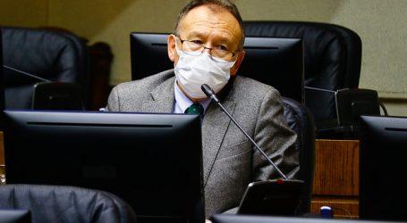 Senador García Ruminot fue dado de alta tras contagio de COVID-19