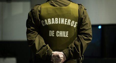Carabineros informó de 247 detenciones por infracción del toque de queda