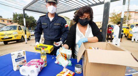 """""""Alimentos para Chile"""": Gobierno reparte 424 mil cajas de alimentos en el país"""