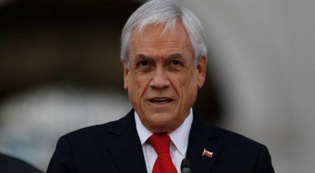 """""""Alimentos para Chile"""": Piñera valora entrega de 500 mil canastas en la RM"""