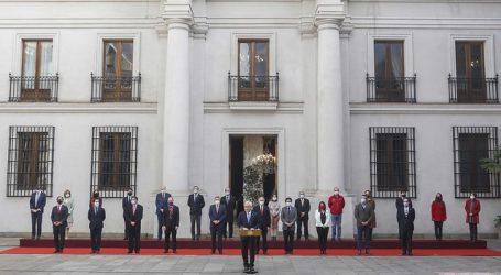Presidente Piñera concretó un nuevo cambio de Gabinete en La Moneda