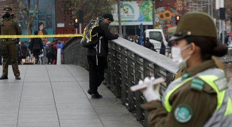 Hombre con COVID-19 fue aislado en puente La Paz de Recoleta