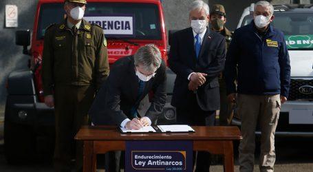 Piñera anunció proyecto que endurece las sanciones contra el narcotráfico