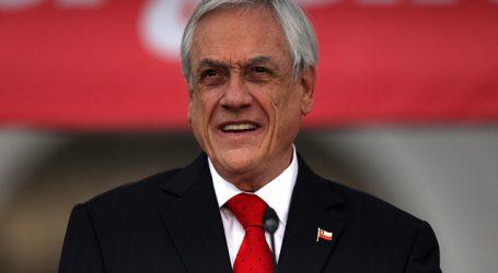 Presidente Piñera detalló acuerdo nacional alcanzado con la oposición